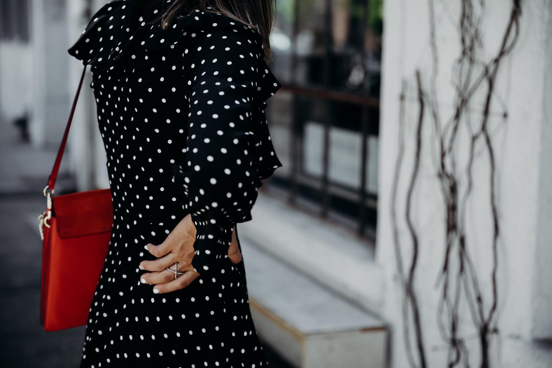 74b8b7c7c Black And White Polka Dot Dress Nordstrom - raveitsafe